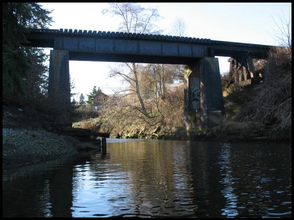 Wellcox Spur Railway Bridge, Nanaimo