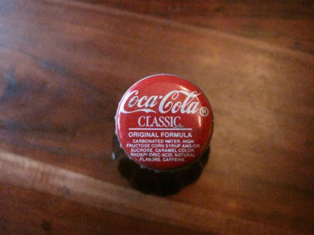 1923 coke bottle cap