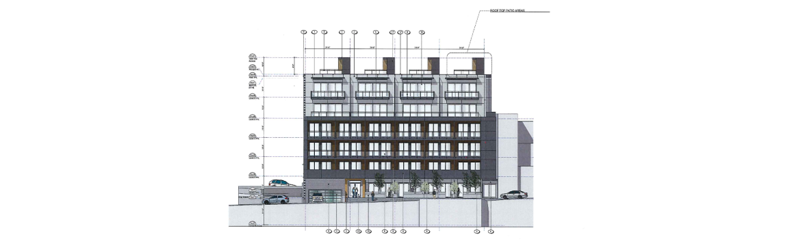 91 Chapel St mixed use concept drawing