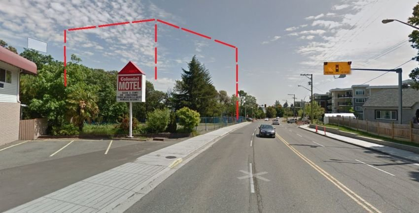 Approximate Location of condo at 930 Terminal Ave, Nanaimo