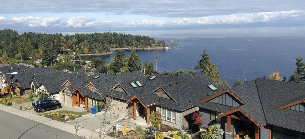 Oceanview homes in Hammond Bay area of Nanaimo
