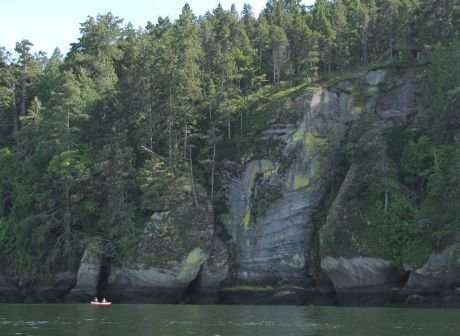 Newcastle Island canoeing and kayaking