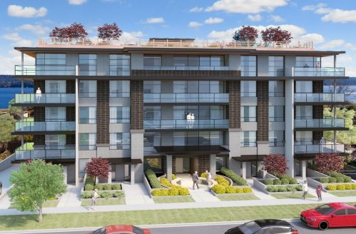 Outlook at Harbourview, Nanaimo - Concept rendering