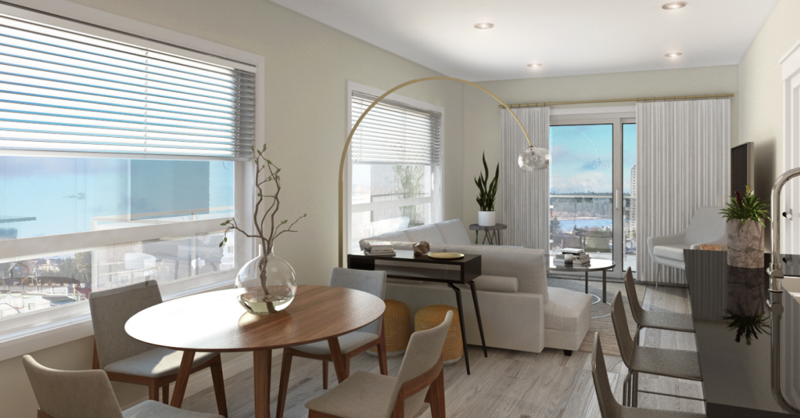 Outlook at Harbourview, Nanaimo Condos - Interior concept rendering