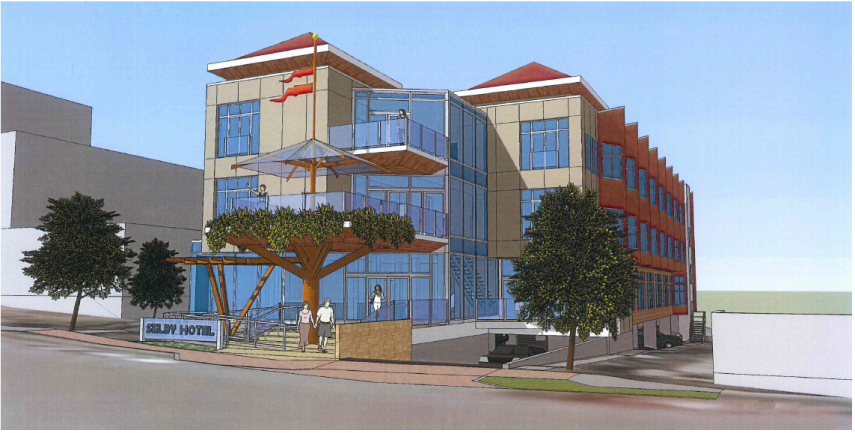 Rendering of Selby Hotel, 440 Selby St