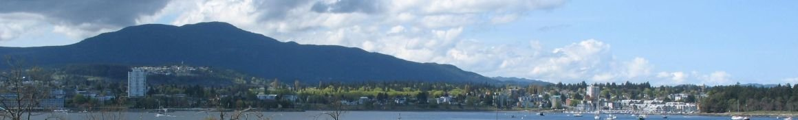 View of Nanaimo from Protection Island